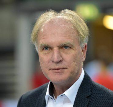 Dr Clemens Prokop Präsident Deutscher Leichtathletikverband DLV 64 Deutsche Hallenmeisterschaft