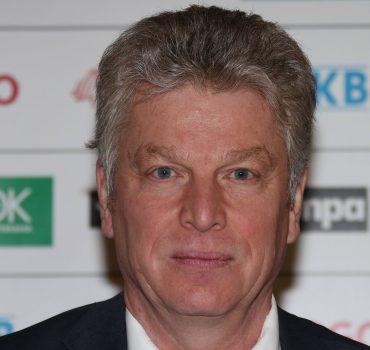19 02 2016 Bietigheim DHB Pressekonferenz Oberbürgermeister Jürgen Kessing