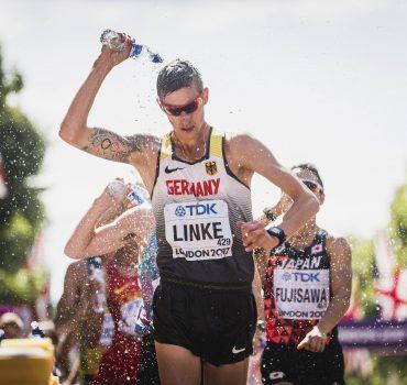 London Großbritannien 13 08 2017 Leichtathletik WM London 2017 Tag 10 20km Gehen Männer Chris