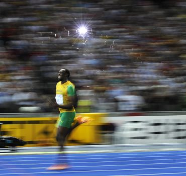 Jamaica's Usain Bolt wins the men's 200m
