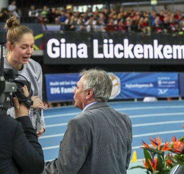 Deutsche Leichtathletik Hallenmeisterschaften Leipzig 16 02 2019 Gina Lueckenkemper SCC Berlin