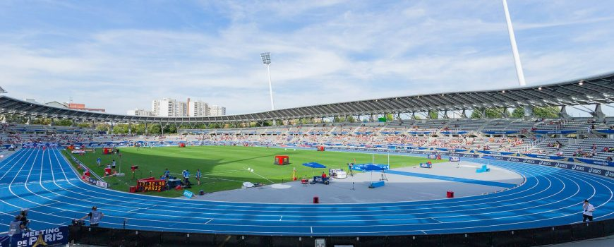 Meeting de Paris General view of the stadium during the 2019 IAAF Diamond League Meeting de Paris a