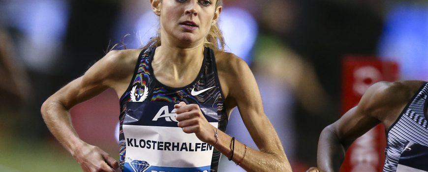 Finale Diamond League; Bruessel, 06.09.2019 Konstanze Klosterhalfen (GER) am 06.09.2019 im Koenig-Baudouin-Stadion; IAAF