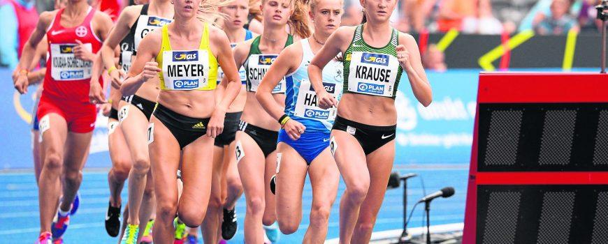 Deutsche Leichtathletik Meisterschaften Berlin 04 08 2019 Gesa Felicitas Krause Silvesterlauf Tr