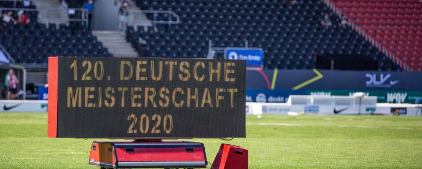Deutsche Leichtathletik-Meisterschaften; Braunschweig, 08.08.2020 Impression: Die 120. Deutschen Leichtathletik-Meisters