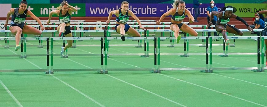 29.01.2021, Leichtathletik, world athletics indoor tour Gold 2021, Indoormeeting Karlsruhe, Europahalle Karlsruhe, , Noo