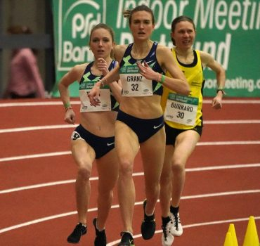 07.02.2021, Leichtathletik, PSD Bank indoor Meeting Dortmund 2021, Helmut Körnig Halle Dortmund 1500m, Katharina Trost,