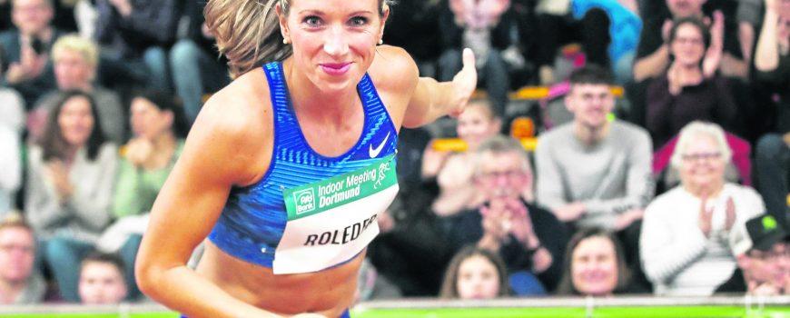 Dortmund, Deutschland 09. Februar 2020: PSD Bank Indoor Meeting Dortmund - 2020 Cindy Roleder (GER/SV Halle e.V.) vernei