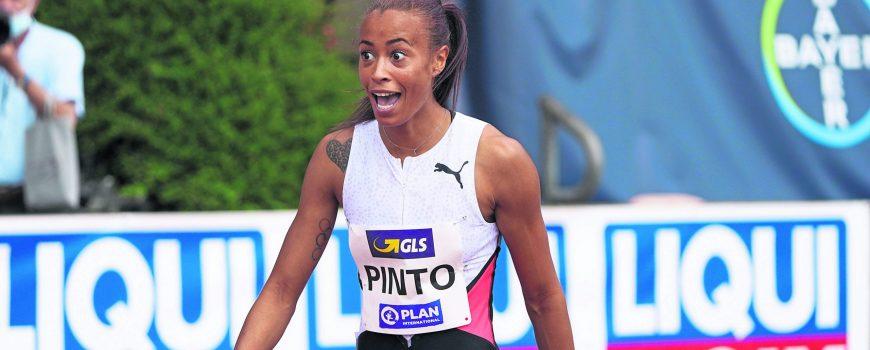 Leichtathletik, Athletics, true athletes Classics 2021, 27.06.2021, Manforterstadion Leverkusen , 100m Frauen Tatjana Pi